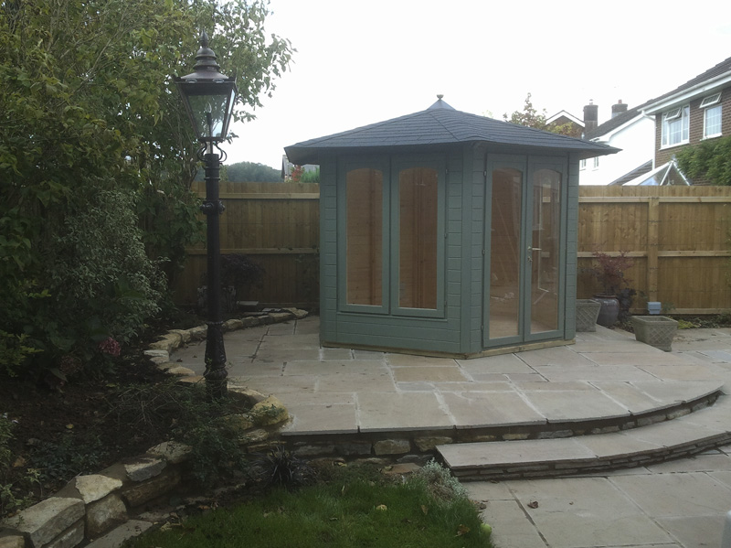 Summer Houses with Paving