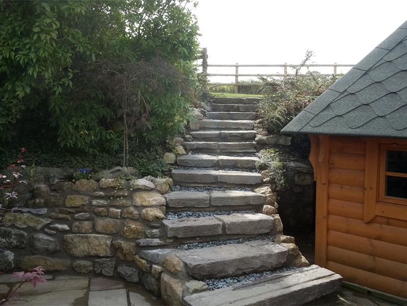 Mini Stone Steps