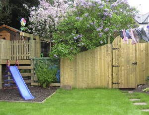 Play Centre with Fencing
