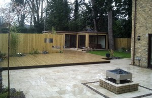 Modern Outside Living Spaces and Timber Offices