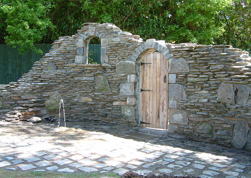 Newly Ruined Stonework Doorway