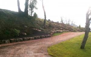 Stone Laid Driveway