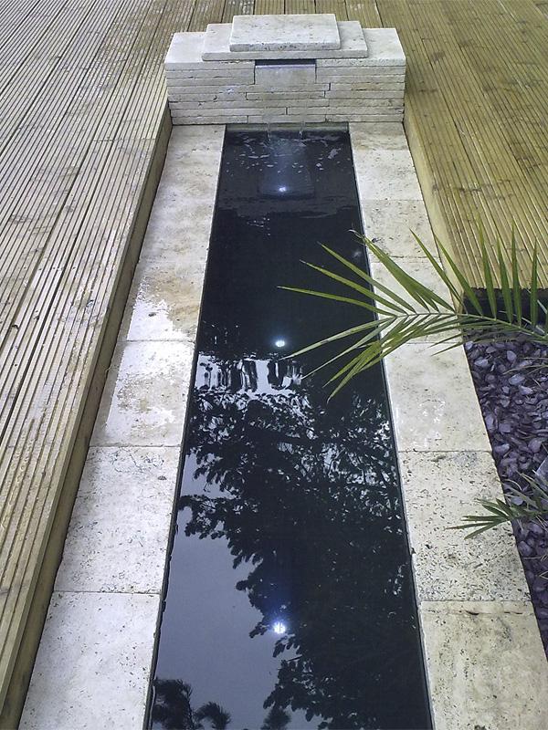 Travertine Water Feature