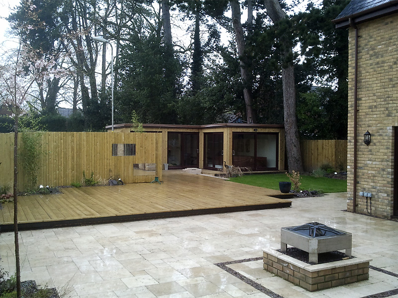 Modern Landscape Design Completed