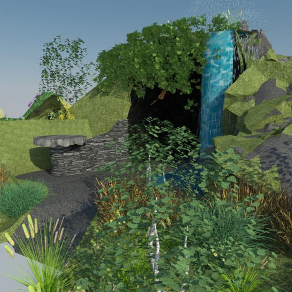 RHS Evergreen Wales 2018 Render